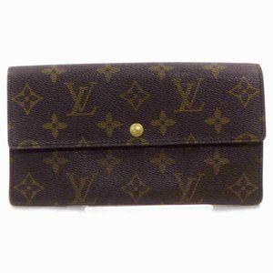 Auth Louis Vuitton Pochette Monnaie #6560L91